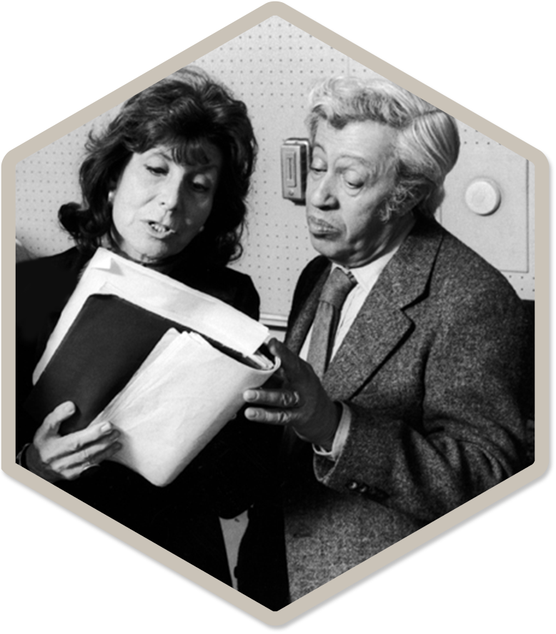 Betty Comden & Adolph Green